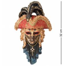 Статуэтка Veronese Венецианская маска ''Треуголка'' WS-321