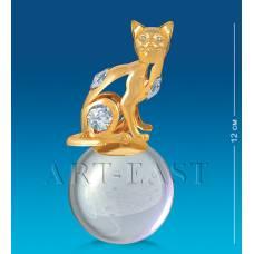 "AR-3746/ 4 Фигурка на шаре ""Кошка"" (Юнион)"