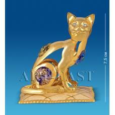 """AR-3746/ 3 Фигурка """"Кошка на подушке"""" с цв.кр. (Юнион)"""