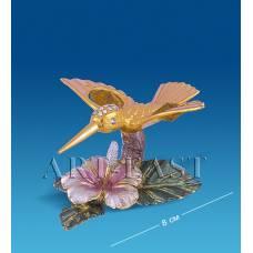 "AR-4352/ 1 Композиция ""Колибри на цветке"" с цв.кр. (Юнион)"