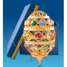 """AR-1021/ 1 Фигурка """"Яйцо бол."""" с цв.кр. в подарочной коробке (Юнион)"""