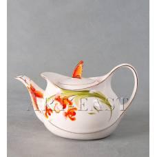 """ALF 55-088 Чайник заварочный """"Орхидеи"""""""