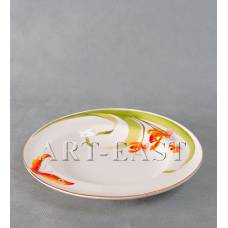 "ALF 55-099 Тарелка глубокая для спагетти ""Орхидеи"" 24,1см"