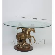 ALF 09080 Журнальный стол ''Кони'' H-545, D-1145*695