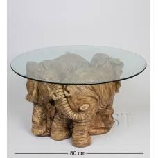 ALF 09091 Журнальный стол ''Слоны'' H-455, D-800