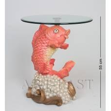 ALF 09152 Журнальный стол ''Рыба'' H-550, D-460