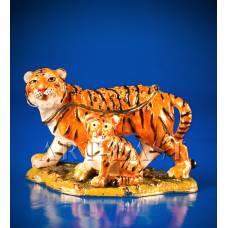 """JB-83 Шкатулка """"Семейка тигров"""""""