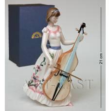 "JP-37/ 1 Фигурка ""Девушка с виолончелью"" (Pavone)"