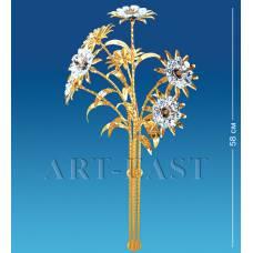 """AR-1161 Фигурка """"Букет"""" из 7 цветков (Юнион)"""