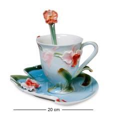 FM-01/12 Чайная пара ''Орхидея'' (Pavone)