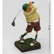 "FO 85504 Статуэтка ""Гольфист"" (Fore..! The Golfer. Forchino)"
