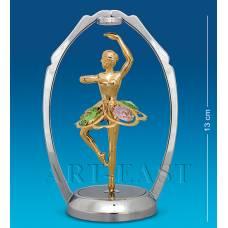 "AR-1287/ 1 Фигурка ""Танцующая балерина"" цв.кр. (Юнион)"