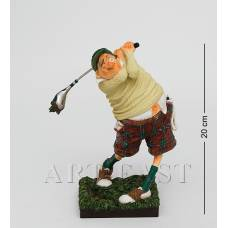 "FO 84002 Статуэтка мал. ""Гольфист"" (The Golf player. Forchino)"