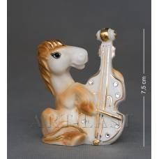 """XA-383 Фигурка """"Лошадь с виолончелью"""""""