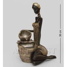 """SM-169 Статуэтка-фонтан """"Африканская леди"""""""