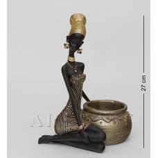 "SM-167 Подставка под бутылку ""Африканская леди"""