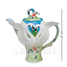 FM-76/ 1 Заварочный чайник ''Лебеди'' (Pavone)