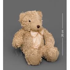 CR-18 Медведь с бантиком - коричневый 46см