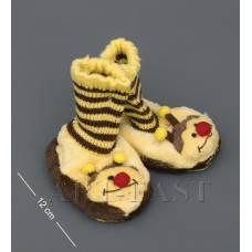 """CR-08 Тапочки-зверюшки """"Пчелка""""детские"""
