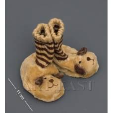 """CR-06 Тапочки-зверюшки """"Щенок""""детские"""