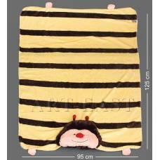 """CR-45 Одеяло-зверюшка """"Пчёлка"""""""