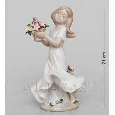 "JP-22/25 Статуэтка ""Девушка с цветами"" (Pavone)"