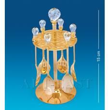 AR-1336 Набор десертных ложек на подставке (Юнион)