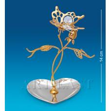 "AR-1341 Подставка для украшений ""Бабочка на цветке"" (Юнион)"