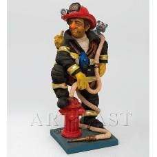 "FO 84010 Статуэтка мал. ""Пожарный"" (The Firefighter. Forchino)"