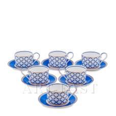 JK- 91 Чайный набор на 6 перс. ''Элегантность'' (Eleganza Pavone)