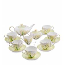 JK- 75 Чайный сервиз на 6 перс. ''Калла'' (Calla Charme Pavone)