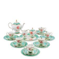 JK- 69 Чайный сервиз на 6 перс. ''Роза'' (Milano Rose Pavone)