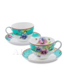 JK-113 Чайный набор на 2 перс. ''Виола'' (Viola Pavone)