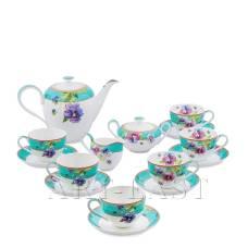 JK-116 Чайный сервиз на 6 перс. ''Виола'' (Viola Pavone)