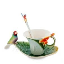 FM-33/ 2 Чайная пара ''Попугай'' (Pavone)