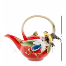 FM-81/ 1 Заварочный чайник ''Иволга и Орхидея'' (Pavone)