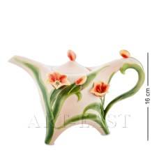 FM-83/ 1 Заварочный чайник ''Тюльпаны'' (Pavone)