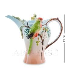 FM-79/ 1 Заварочный чайник ''Попугай Розелла'' (Pavone)
