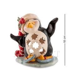 """BS-505 Подсвечник """"Пингвин в танце на льду"""" (Pavone)"""