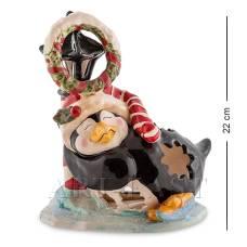 """BS-507 Подсвечник """"Пингвин в танце на льду"""" (Pavone)"""
