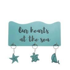 """Ключниця """"Море"""" 25см * 12см * 1,2 см"""