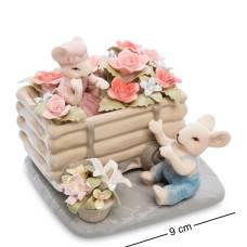 Статуэтка символ года ''Пара мышат в цветах'' (Pavone) CMS-62/ 7