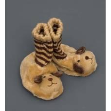 Детские тапочки-зверюшки ''Щенок'' 25118 - 11 см