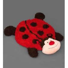 Мягкая игрушка коврик-зверюшка ''Божья Коровка'' 25177 - 100 см