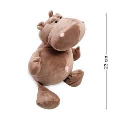 Мягкая игрушка бегемот  PT-23 -  23 см