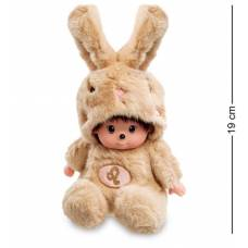 Мягкая игрушка малыш в костюме Зайчика ''Знак Зодиака - Лев'' PT-60 - 19 см