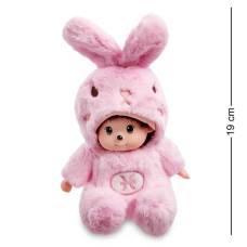 Мягкая игрушка малыш в костюме Зайчика ''Знак Зодиака - Рыбы''  PT-62 -19 см