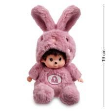 Мягкая игрушка малыш в костюме Зайчика ''Знак Зодиака - Весы''  PT-65 - 19 см