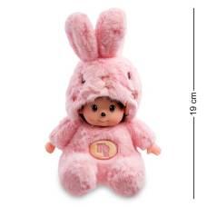Мягкая игрушка малыш в костюме Зайчика ''Знак Зодиака - Дева''  PT-66 - 19 см