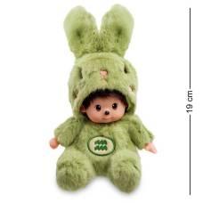 Мягкая игрушка малыш в костюме Зайчика ''Знак Зодиака - Водолей''  PT-68 - 19 см
